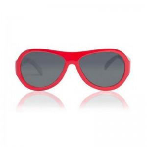 瑞士shadez儿童专业护眼太阳镜卡通花纹红色消防车0