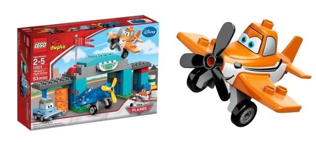 美国lego乐高 得宝飞机总动员3