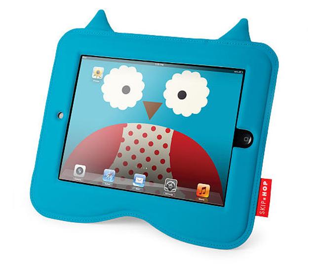 美国skip hop可爱动物园2合1平板电脑保护套猫头鹰