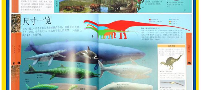 dk儿童恐龙百科全书 精装图片