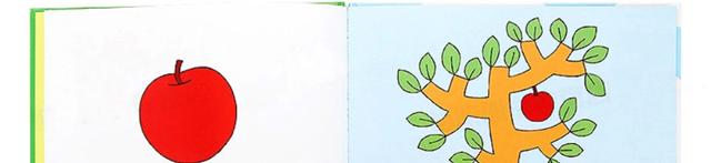 首先有一个苹果 幼儿认知早教童话绘本