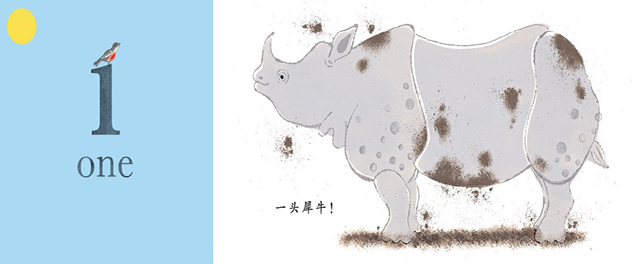 蒲蒲兰 动物数字(精) 儿童认知早教启蒙绘本故事书0-6